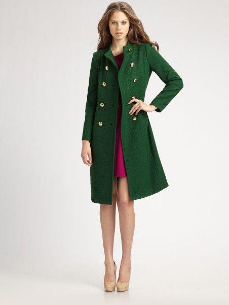 Emerald Green Womens Jackets - JacketIn