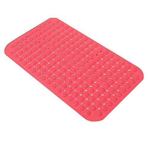 Bathing Mat For Tubs And Showers Non Slip Natural Rubber Pvc And Without Odor Large Extra Long Bath Mat Saf Extra Long Bath Mat Tubs And Showers Natural Rubber