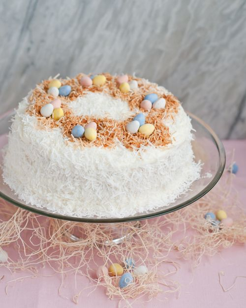 Easter Coconut Cake Recipe | Coconut Cakes, Cake Recipes and Coconut