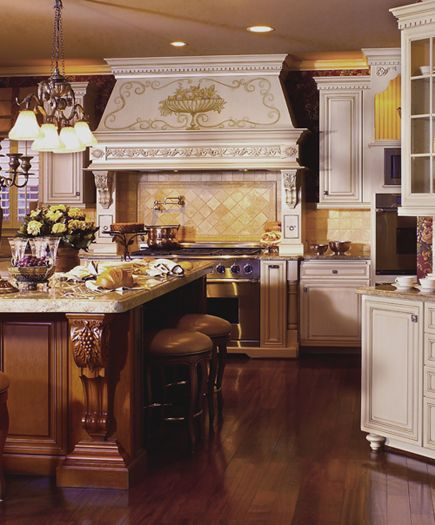 15 Extraordinary Modern Industrial Kitchen Interior Designs: French Provincial, French And Small Stool On Pinterest