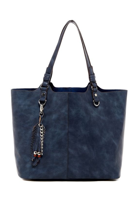 Nessa Faux Leather Tote by Madden Girl on @nordstrom_rack