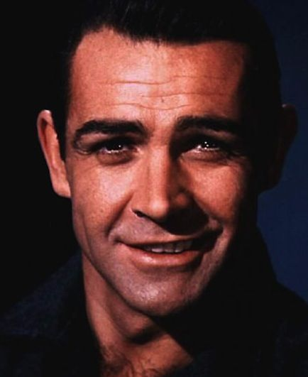 Sean Connery. Oh wow! I've never seen this one before! Love it! Makes me think of him when he did Darby O'Gill and the Little People! Loved him in that!:
