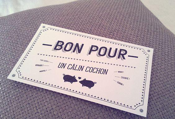 le kit gal re st valentin diy bon cadeau typographie graphisme gift card typography. Black Bedroom Furniture Sets. Home Design Ideas