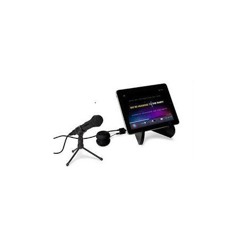 Soulo Wired Microphone Karaoke System for Ipad, Iphone, Ipod Touch...what a great idea!  Karaoke that works with your own Music! Instruments