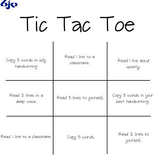 BJE - This Tic Tac Toe worksheet will spice up your reading ...