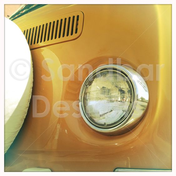 Butterscotch VW bus #SandbarDesigns #VWBus #VW #BusPics #Volkswagen #BusyDreamin.com