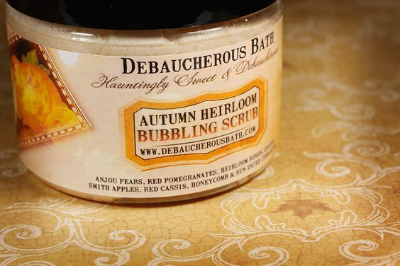 Autumn Heirloom Bubbling Scrub