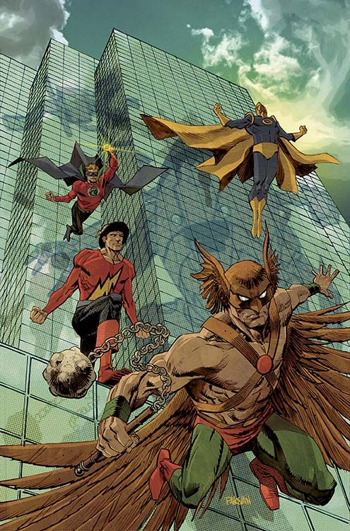 CONVERGENCE: JUSTICE SOCIETY OF AMERICA #2 DC Comics May 2015 Covers and Solicitations - CONVERGENCE - Comic Vine