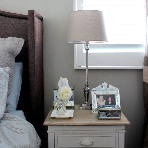 Schlafzimmer im Landhausstil, Einrichten, Wohnen, Kommode, Landhausmöbel, Farmhouse Style, Vintage Look