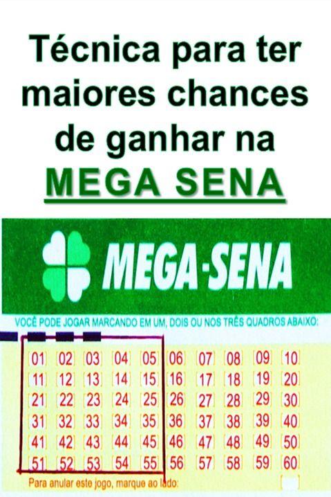 Mega Sena Com Tecnica Para Ganhar Mega Sena Numeros Da Mega Sena Sena