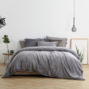 Eider Ivory Pembroke Knit Comforter Set Wayfair Bedroom Comforter Sets Comforter Sets Luxury Bedding