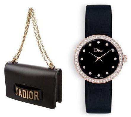 Dior J'Adior Bag & Dior La D De Dior