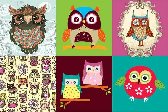 owl illustration inspiration