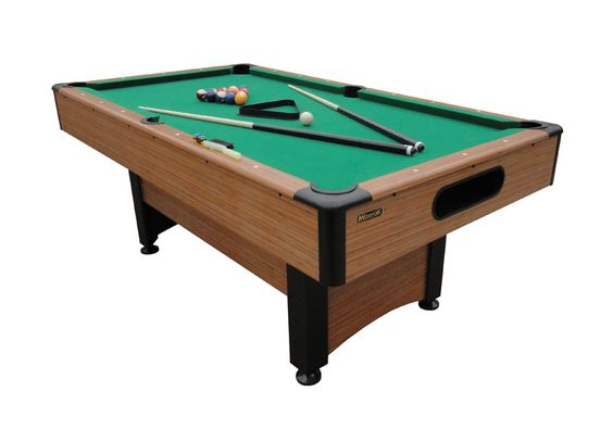 Dynasty 6.5 ft Mizerak Pool Table. Perfect for a small room. serenityhealth.com