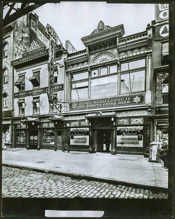 Alt Heidelberg Restaurant & Tavern: 130-132 Third Avenue, New York, 1914!