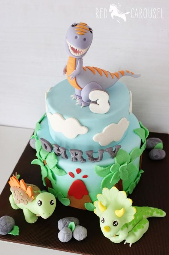 Dinosaur Cake Decorations Uk : Dinosaurs Cake - For all your cake decorating supplies ...
