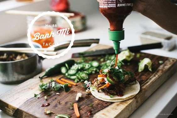 banh mi tacos combine two of my favourite things: banh mi and tacos ...