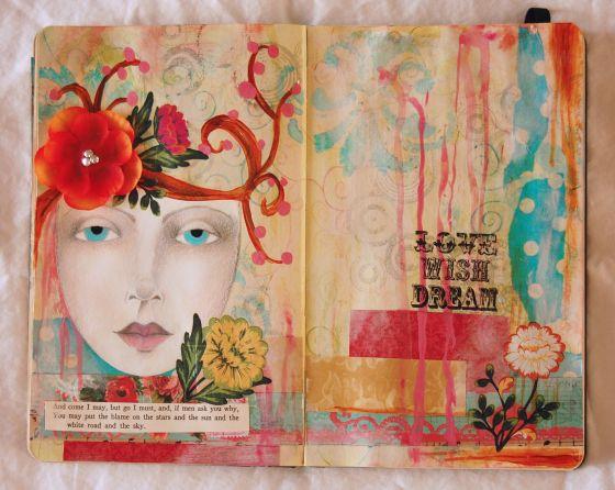 art journal | colorandjunk