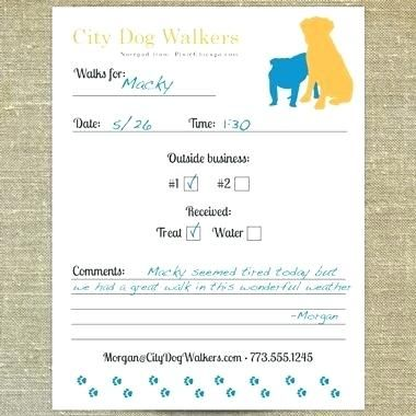 Pet Sitting Report Card Template Resume Templates Dog Walking The Best Free Form Dog Walker Dog Walking Business Dog Walking Flyer