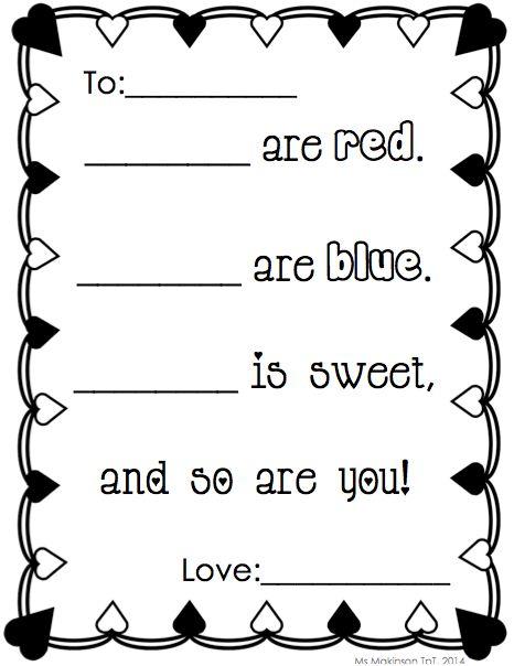 Help writing a valentine poem