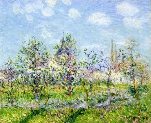 Flowering Orchard, Spring - Gustave Loiseau, 1902
