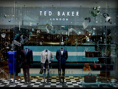 Ted Baker - Car part rain - Retail Focus - Retail Interior Design and Visual Merchandising