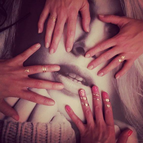 About last #night..  #love #girls #friends #wundertats #latergram