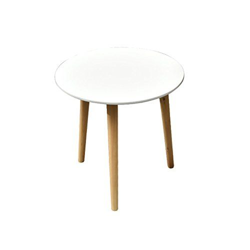 Nubao Solid Wood Side Small Coffee Table Simple Modern Mini Round
