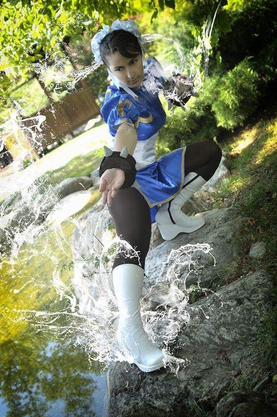 cosplay cosplay cosplay cosplay  chun li from street fighter by sensee cosplay