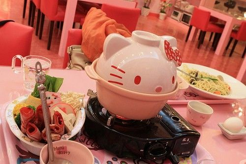 LOL. Hello Kitty hot pot?!