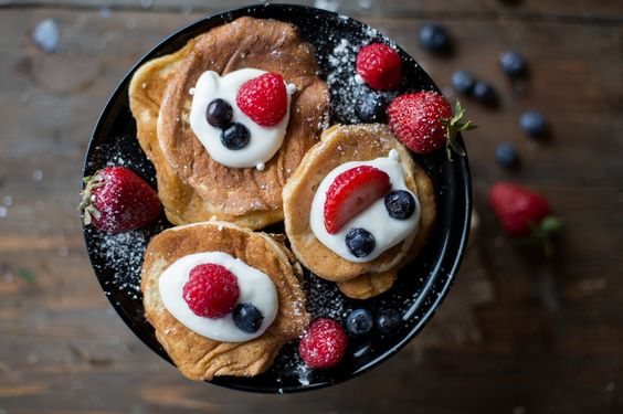 Rezept für leckere Gesunde Bananenpancakes zum Frühstück