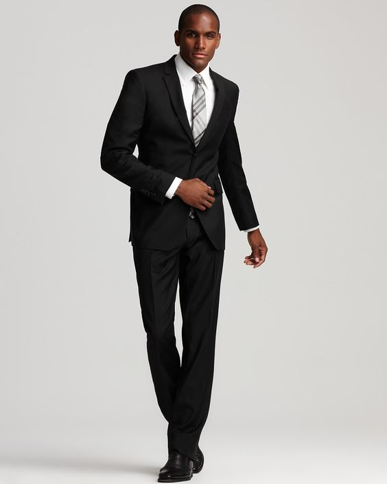 Burberry London Milbury Suit in Black - Suits & Sport Coats