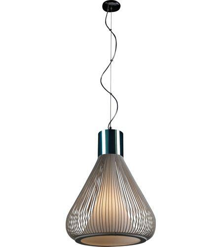 ET2 Hydrox 1 Light Pendant in Polished Chrome and White E21501-09WT #et2 #et2lighting #lightingnewyork #contemporarylighting #lighting