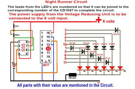 Larson scanner circuit