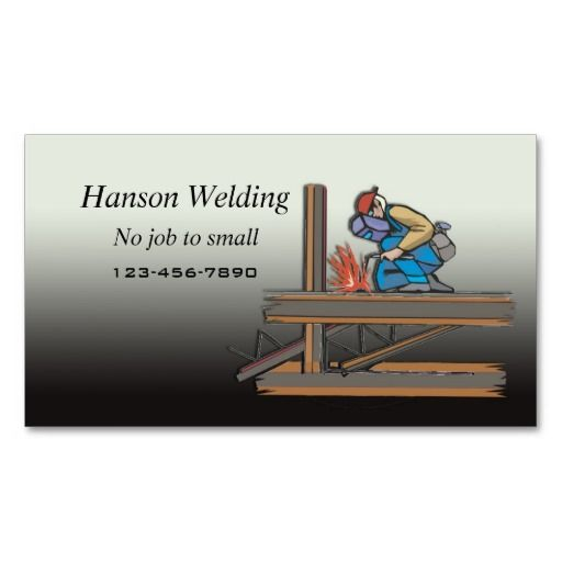 Welding business card pinterest business cards and business colourmoves