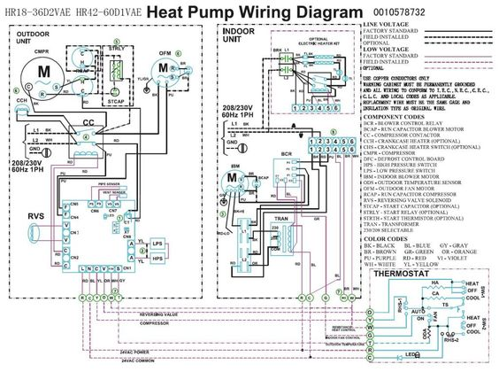 electric furnace heat pump wiring diagram trane heat pump wiring diagram | heat pump compressor fan ...