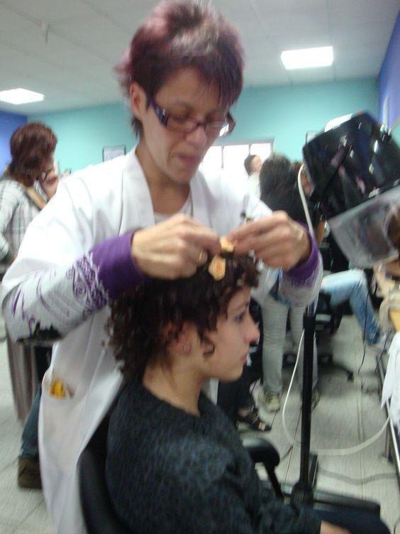 Continuação do penteado...