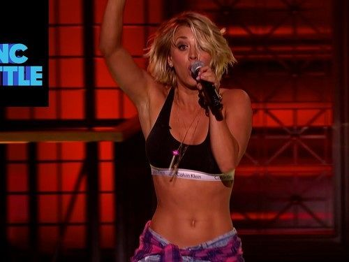 kaley cuoco lipsync - Google Search