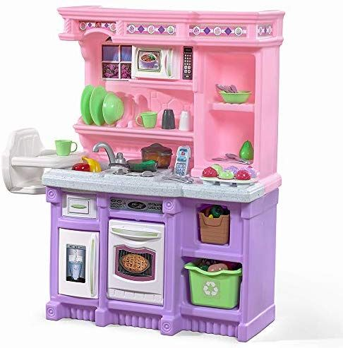 Step2 Sweet Baker S Kitchen Pink Purple Pretend Play Kitchen