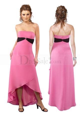 dress strapless grain ribbon