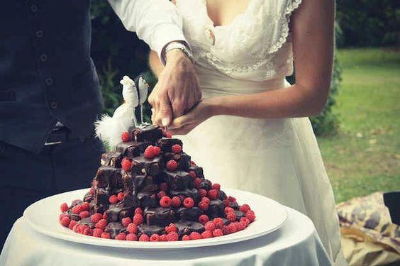Alternatiewe nagereg idee..stack of brownies!! :)
