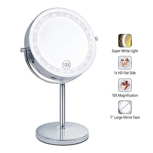 Benbilry Lighted Makeup Mirror Led, Battery Led Makeup Mirror