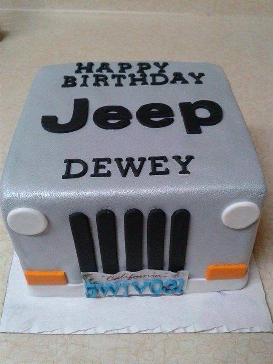 Jeep Cake Jeep Pinterest Cakes, Jeep cake and Jeeps