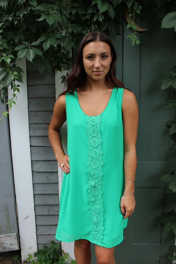 Emerald In The Rough Dress
