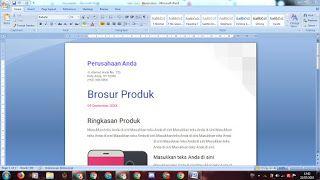 Mengubah Google Docs Menjadi File Microsoft Words Cemiti Brosur Microsoft Blog