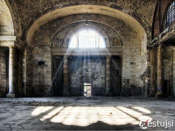 Opustené miesta, ktoré vyrážajú dych
