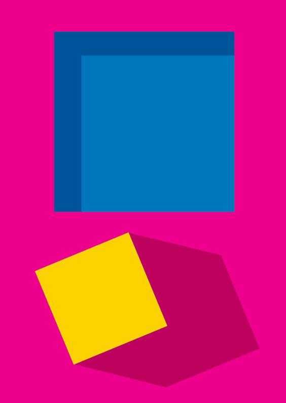 Pôsteres abstratos e muito coloridos de Richard Keeling - Prepare-se para muitas cores e formas abstratas!A arte do designer Richard Keeling enche nossos olhos e é realmente inspiradora. Confira!