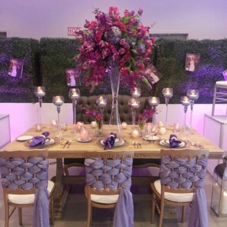 Ever After Events creates arrangements to add color to your event.