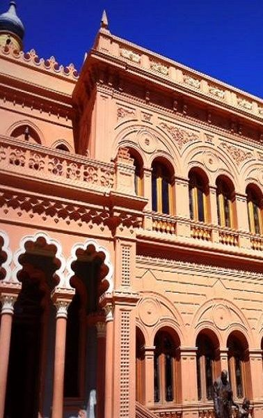 Castillo de la Glorieta is a charming castle built during the late 19th century by the only prince and princess in Bolivia's history. Find out more here: http://www.sucrelife.com/castillo-de-la-glorieta-sucre/ #travel #bolivia