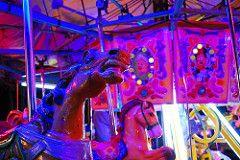Caballito de feria (LizMisterio) Tags: mexico df feria merrygoround xochimilco caballitos